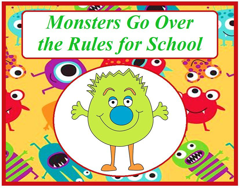 Monsters Go Over the Rules at School