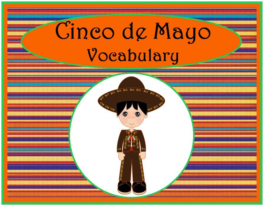Cinco de Mayo Vocabulary
