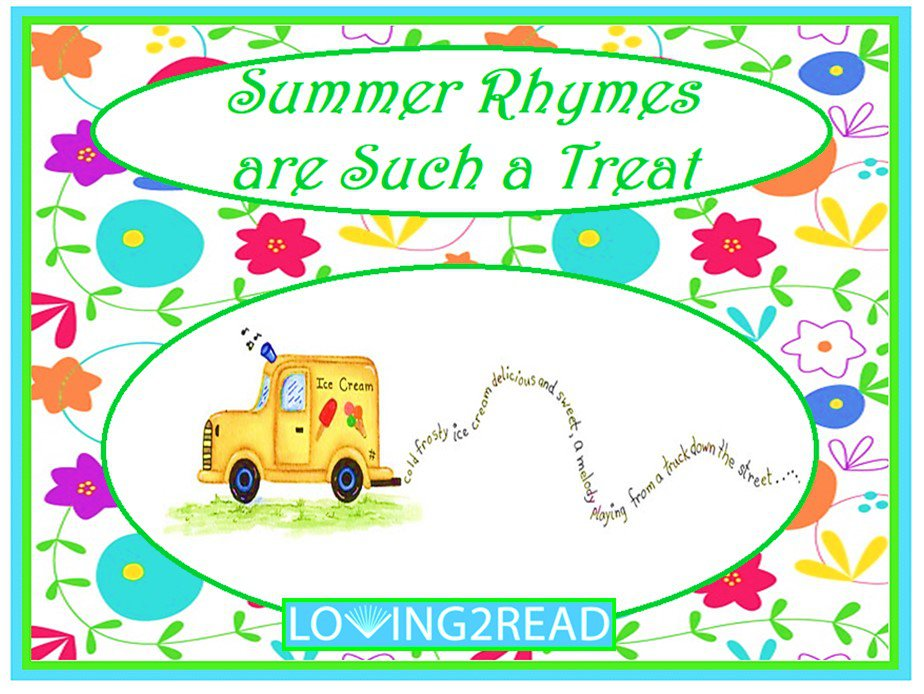 Summer Rhymes are Such a Treat