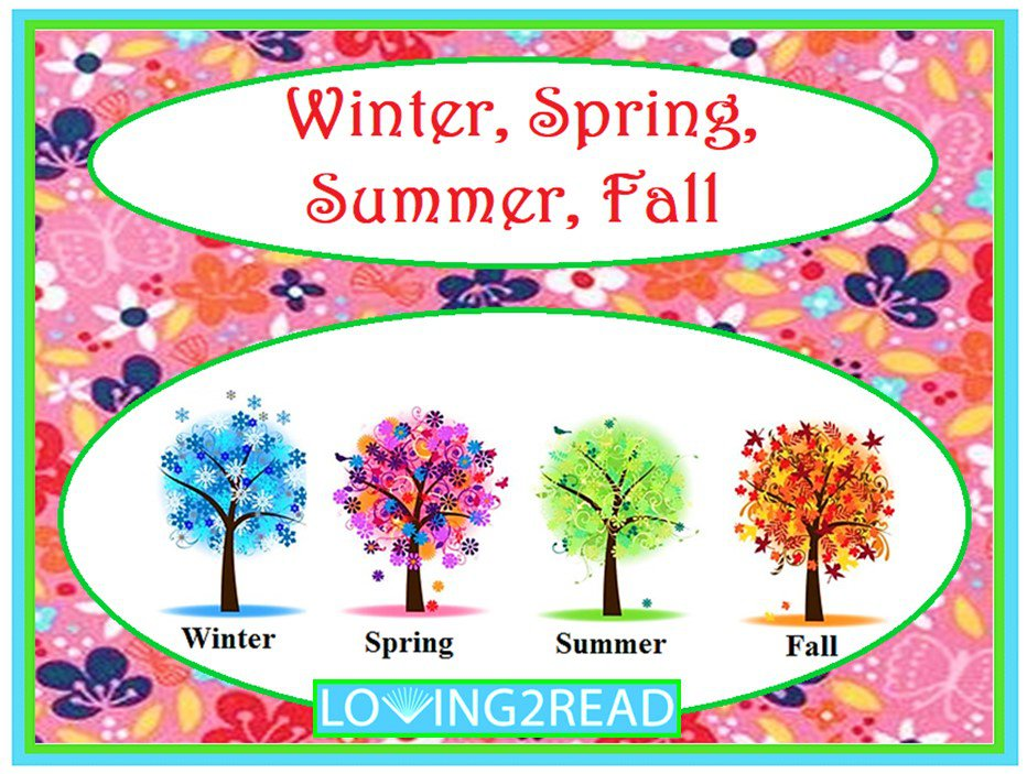 Winter, Spring, Summer, Fall