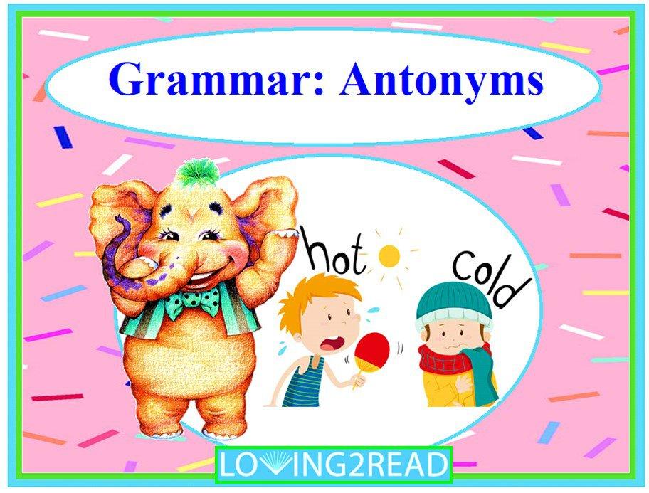 Grammar: Antonyms