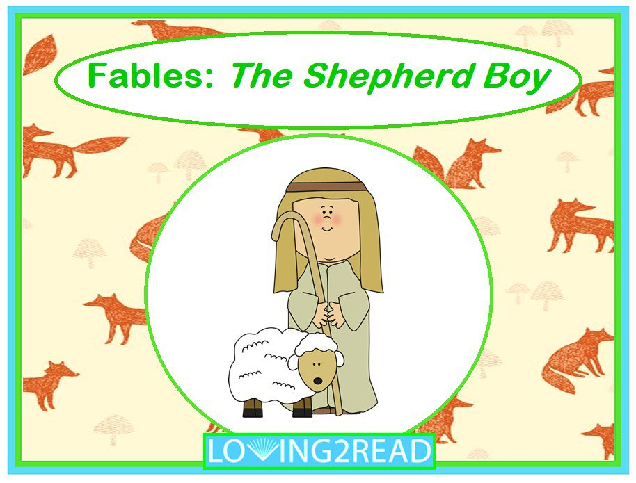 Fables: The Shepherd Boy