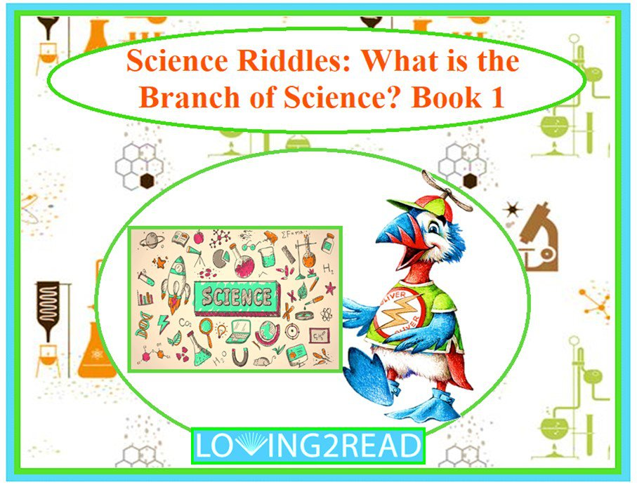 Science Riddles: What is the Branch of Science? Book 1