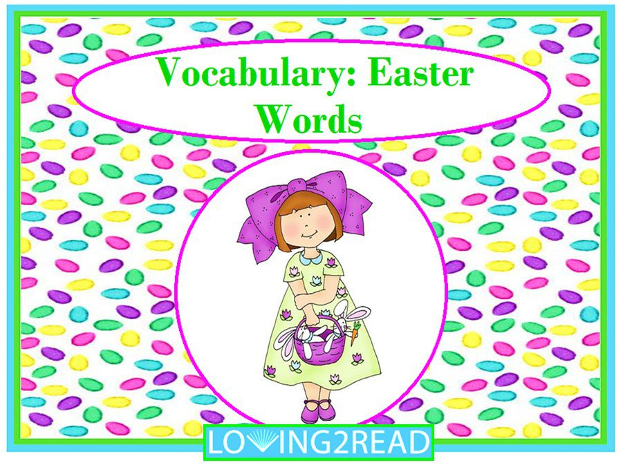Vocabulary: Easter Words