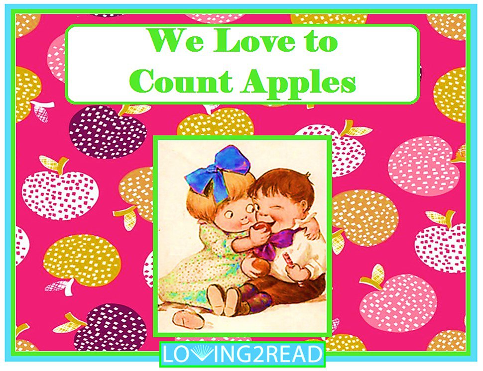 We Love to Count Apples