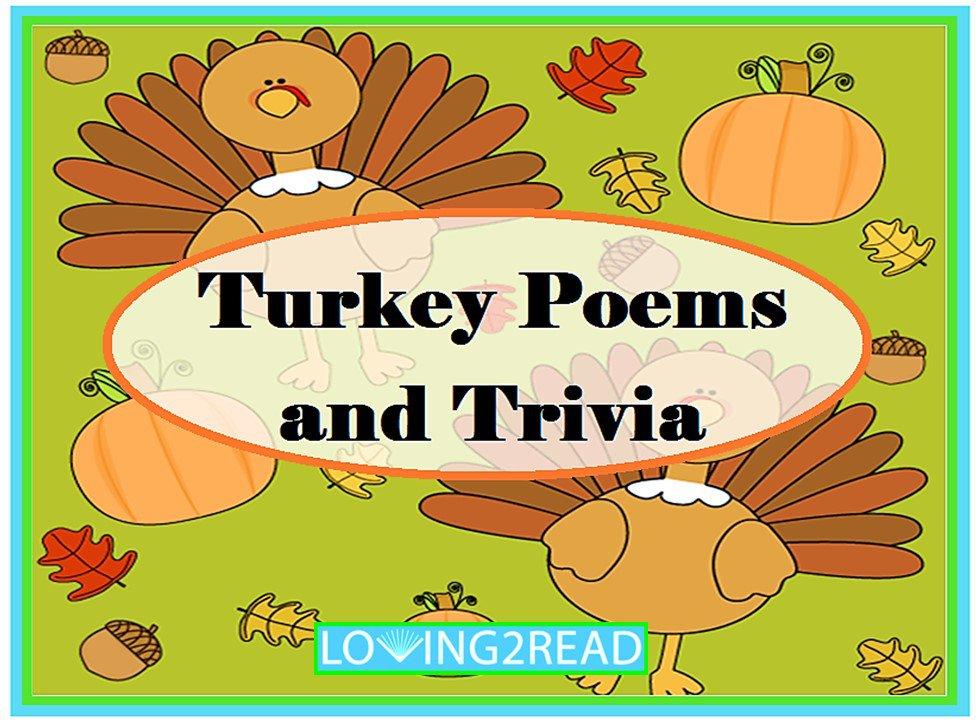 Turkey Poems and Trivia