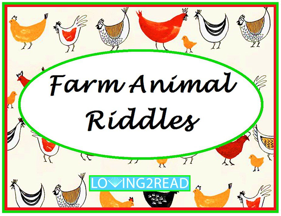 Farm Animal Riddles