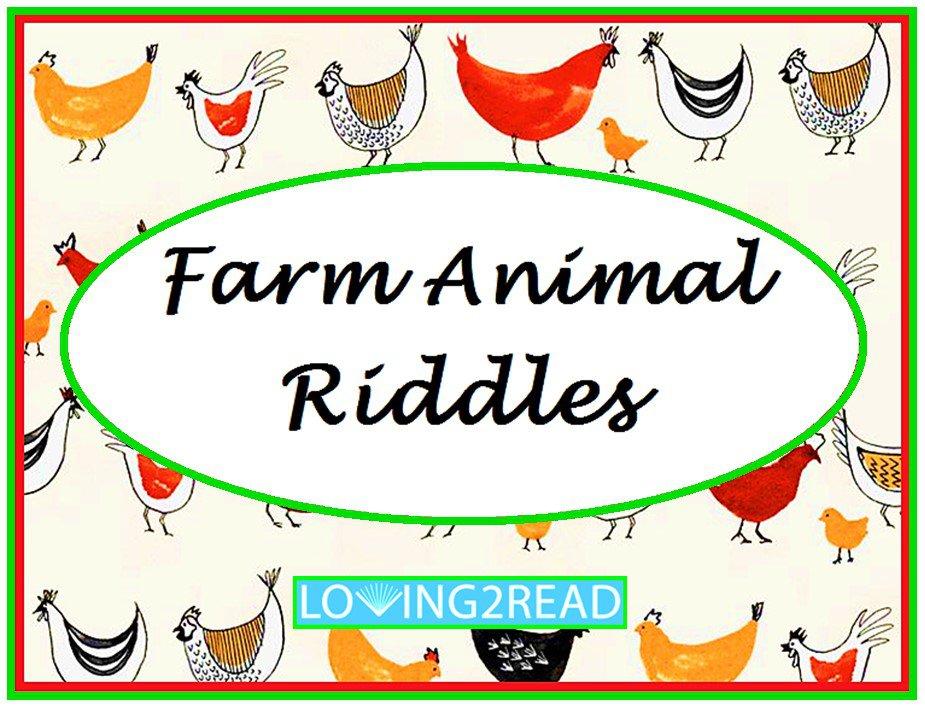Farm Animal Riddles