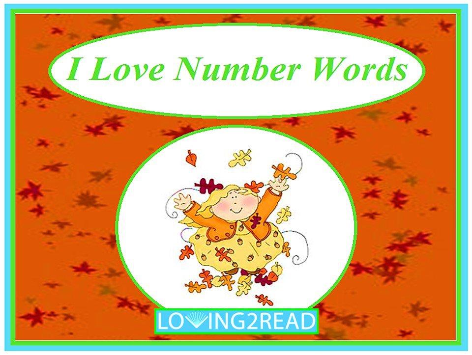 I Love Number Words