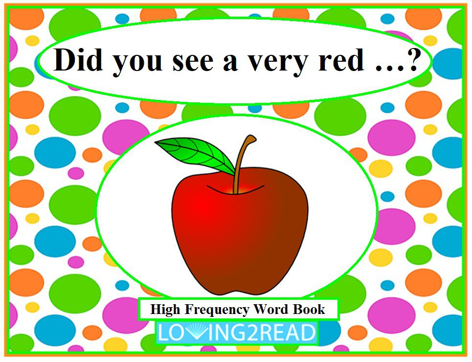 Did you see the very red...?