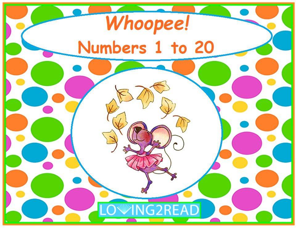 Whoopie!  Numbers 1 to 20