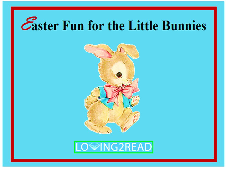 Easter Fun for the Little Bunnies
