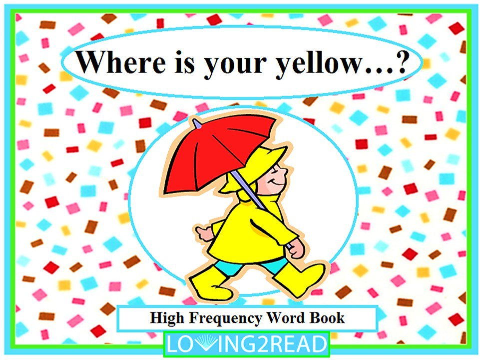 Where is your yellow...?