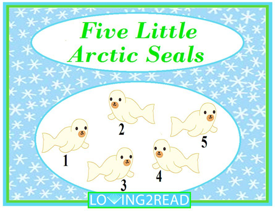 Five Little Arctic Seals