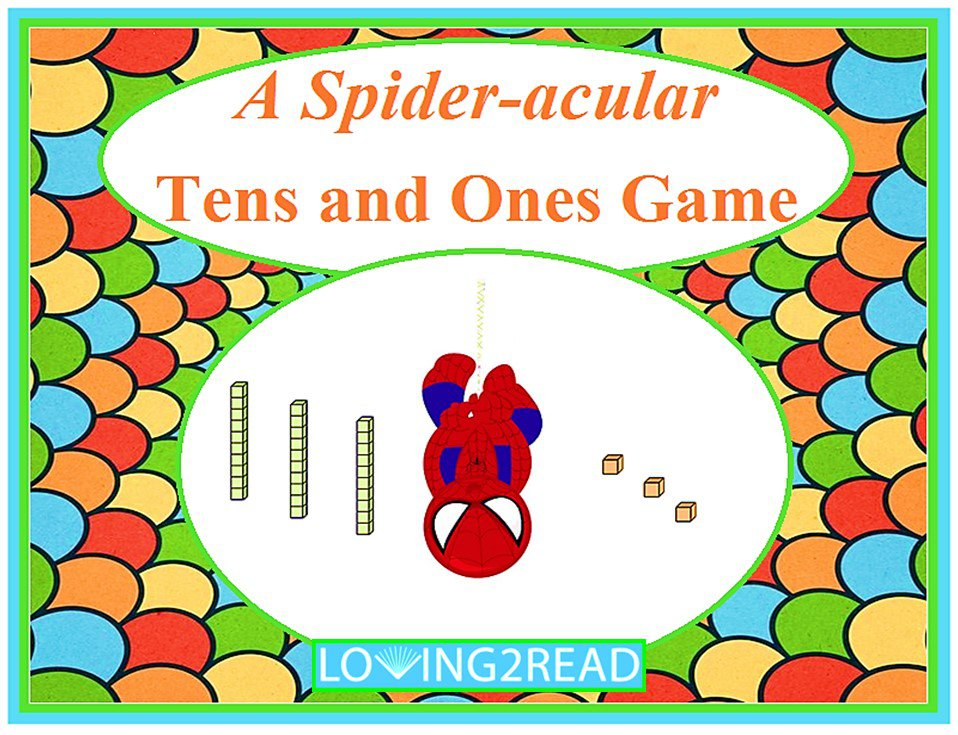 A Spider-acular Tens and Ones Game