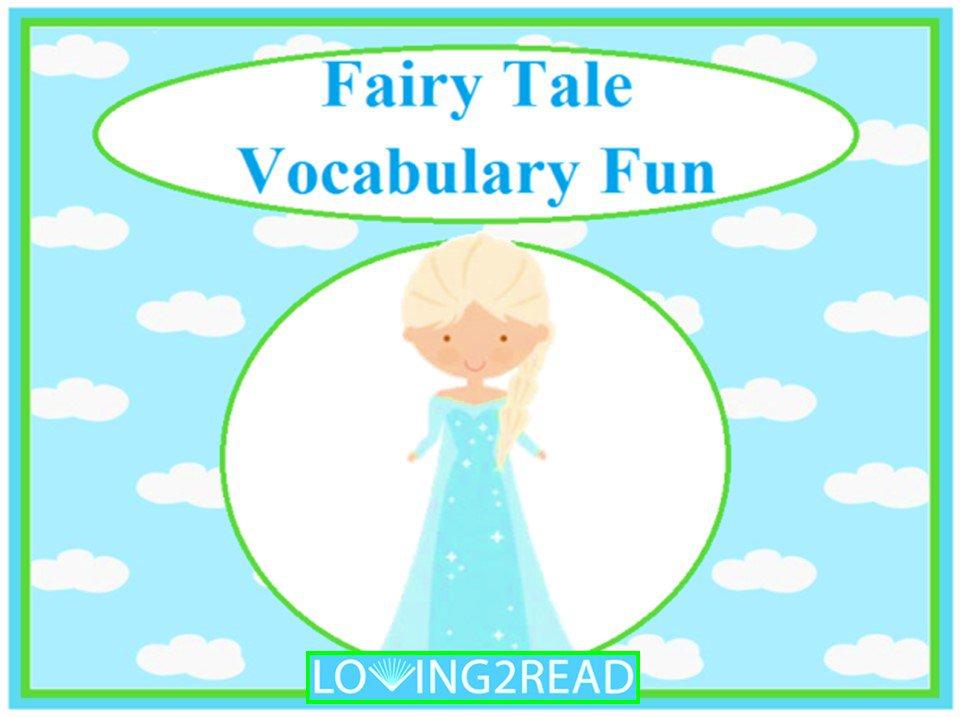 Fairy Tale Vocabulary Fun