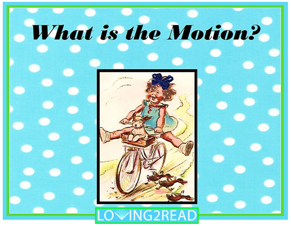 What is the Motion?