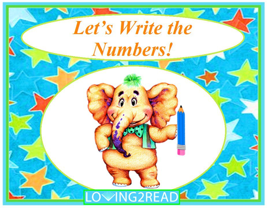 Let's Write the Numbers