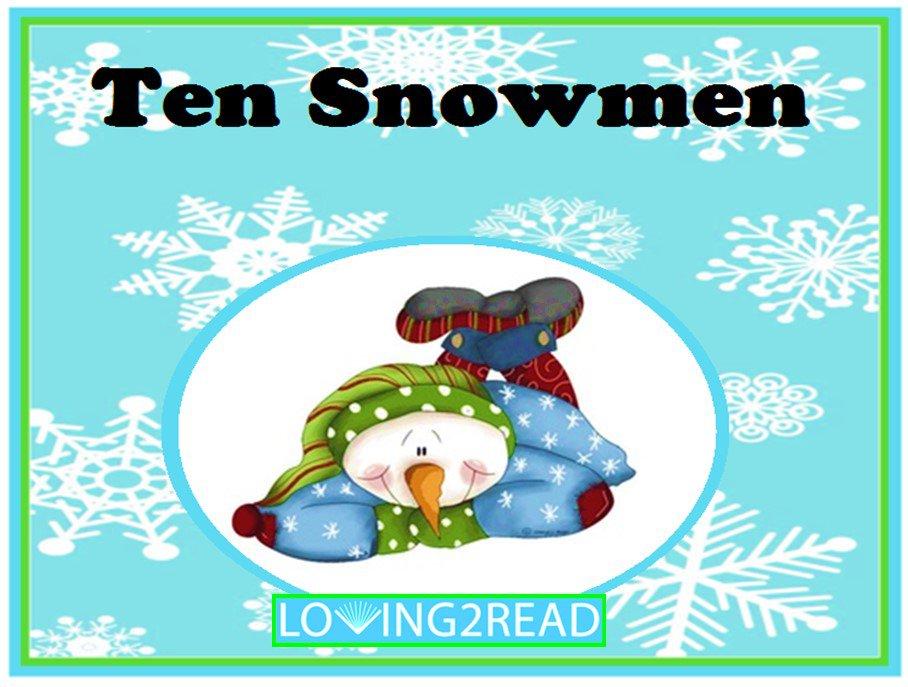 Ten Snowmen