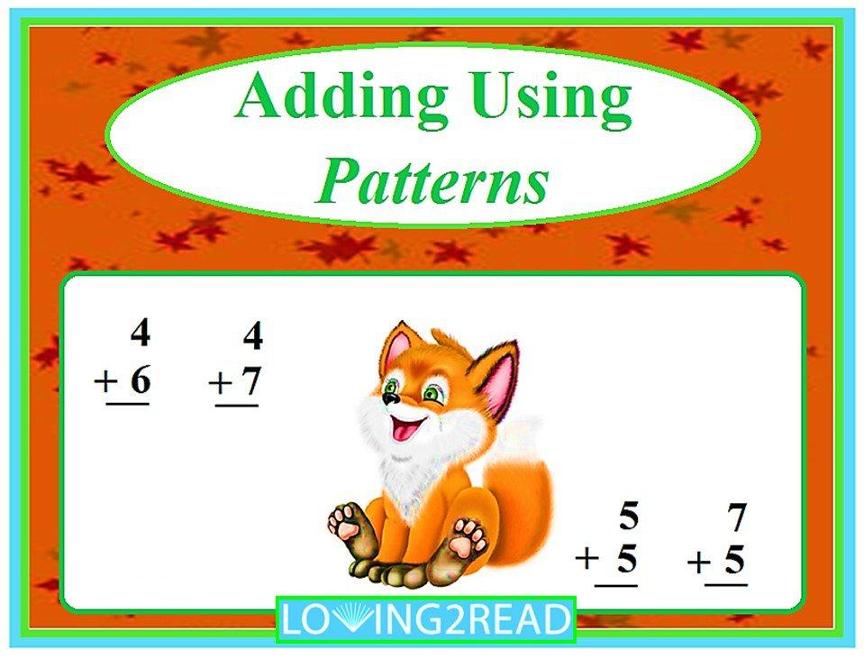 Adding Using Patterns