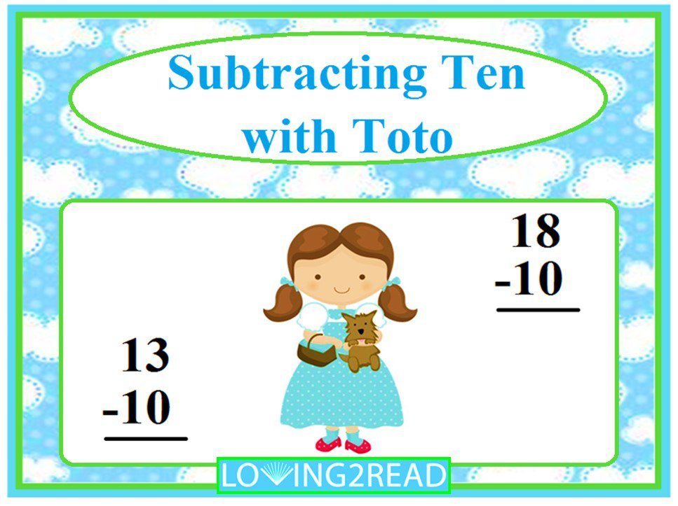 Subtracting Ten with Toto