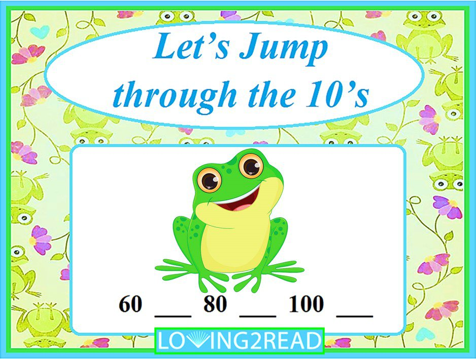 Let's Jump through the 10's