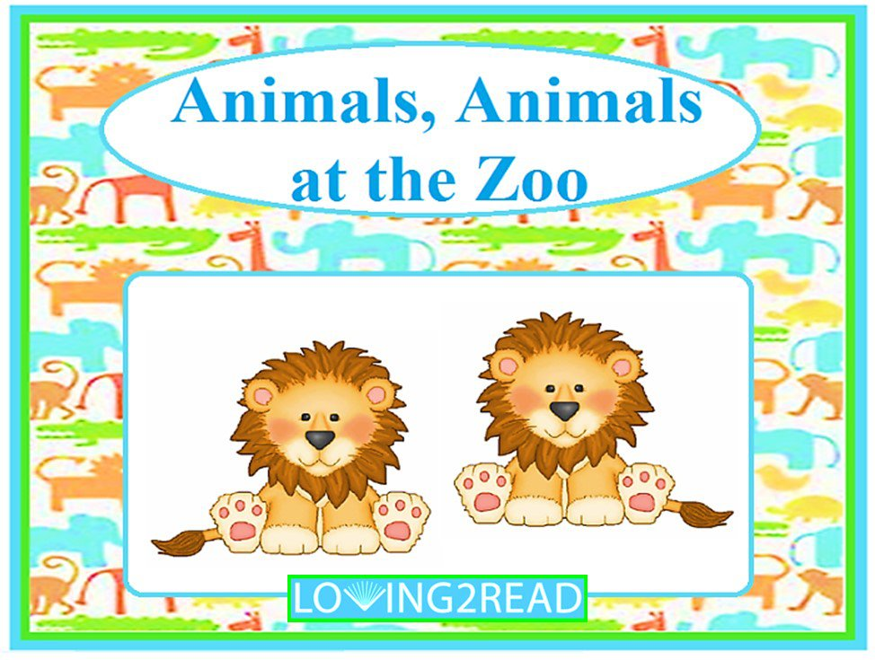 Animals, Animals at the Zoo