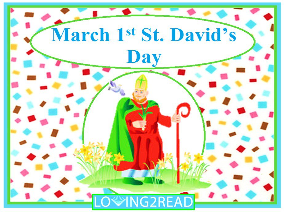 March 1st St. David's Day