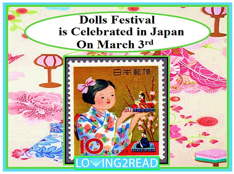 Dolls Festival is Celebrated in Japan on March 3rd
