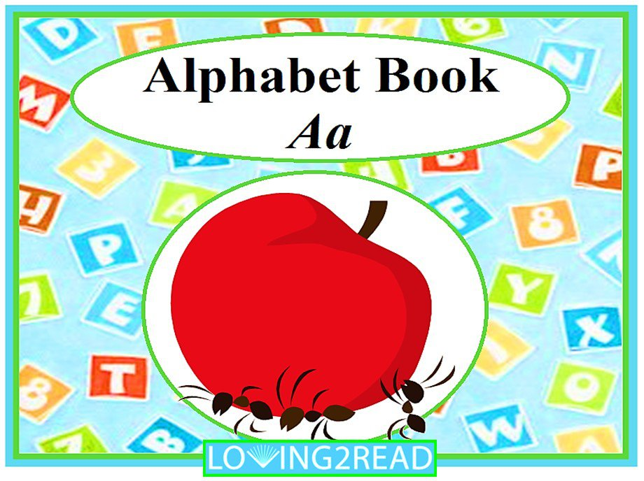 Alphabet Book Aa
