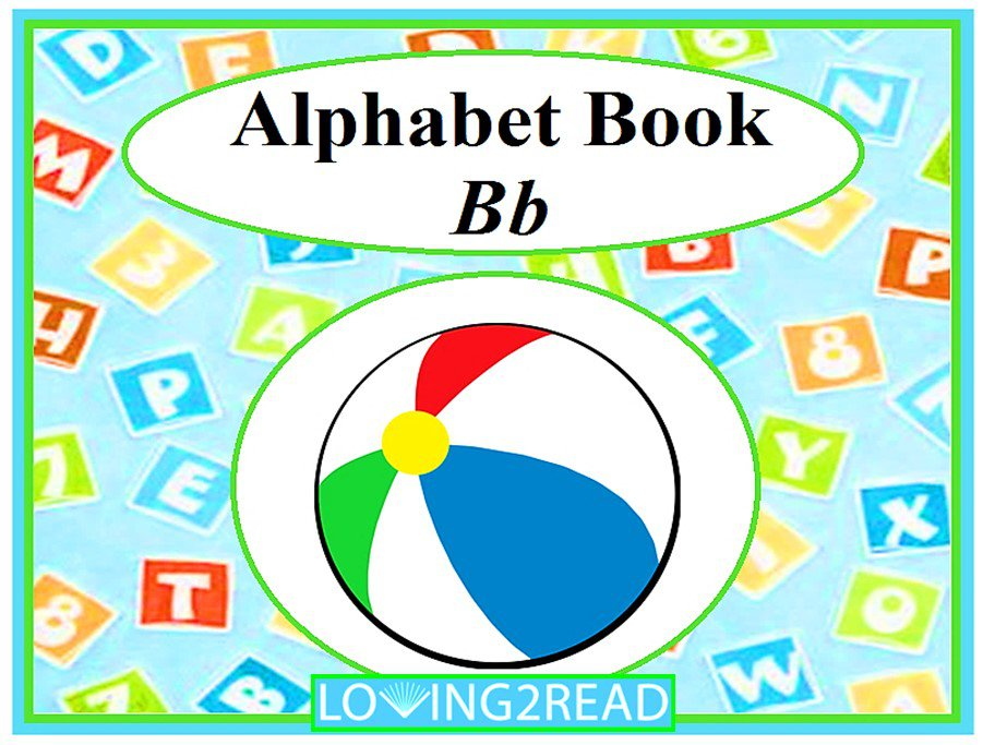 Alphabet Book Bb