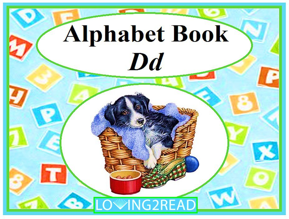 Alphabet Book Dd