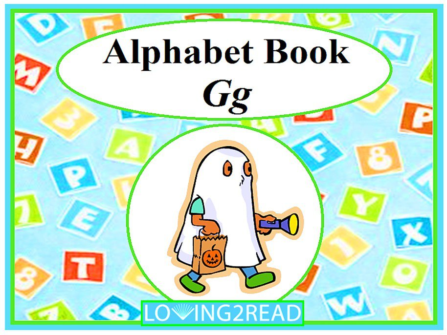 Alphabet Book Gg