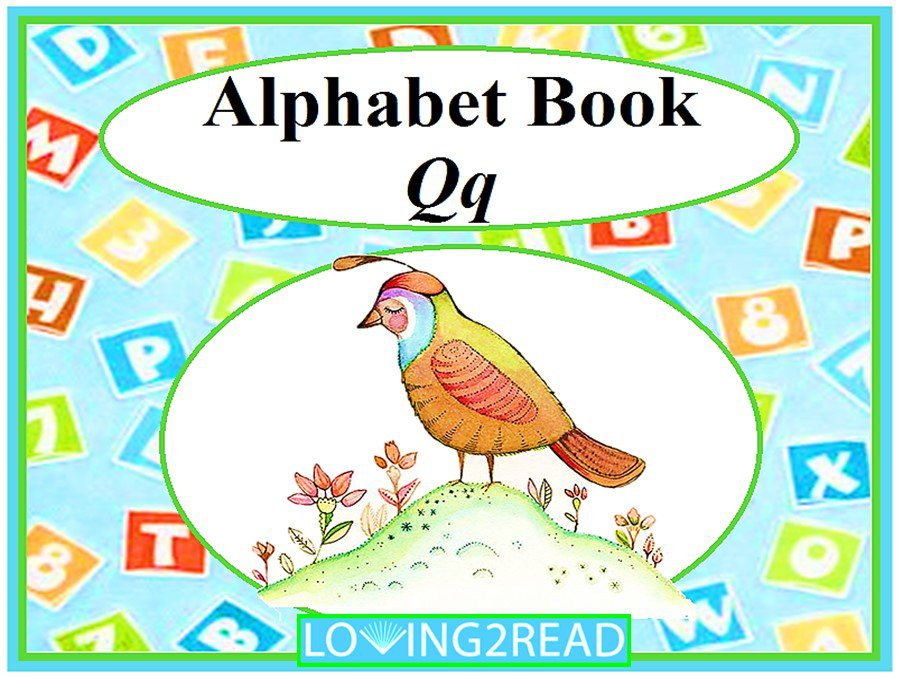 Alphabet Book Qq