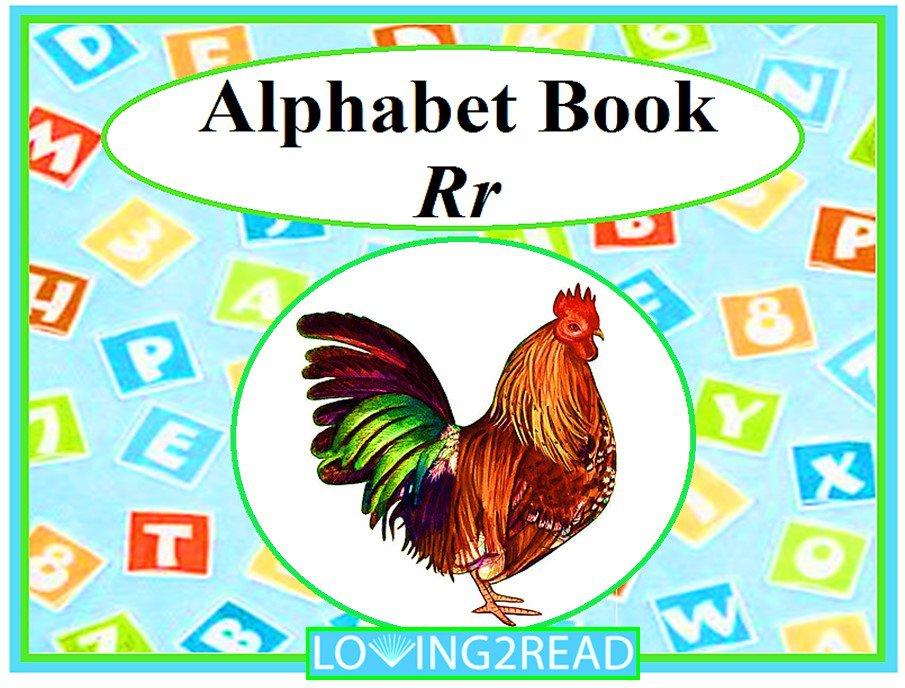 Alphabet Book Rr