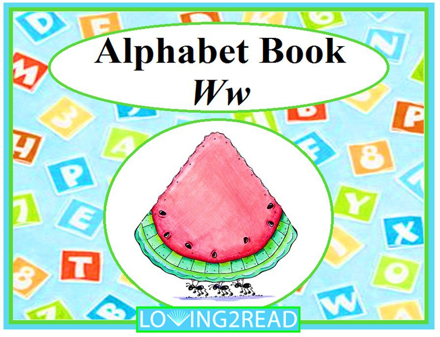 Alphabet Book Ww