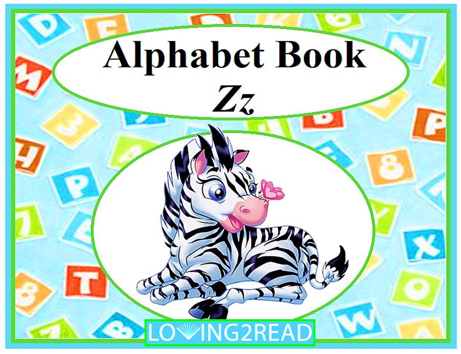 Alphabet Book Zz