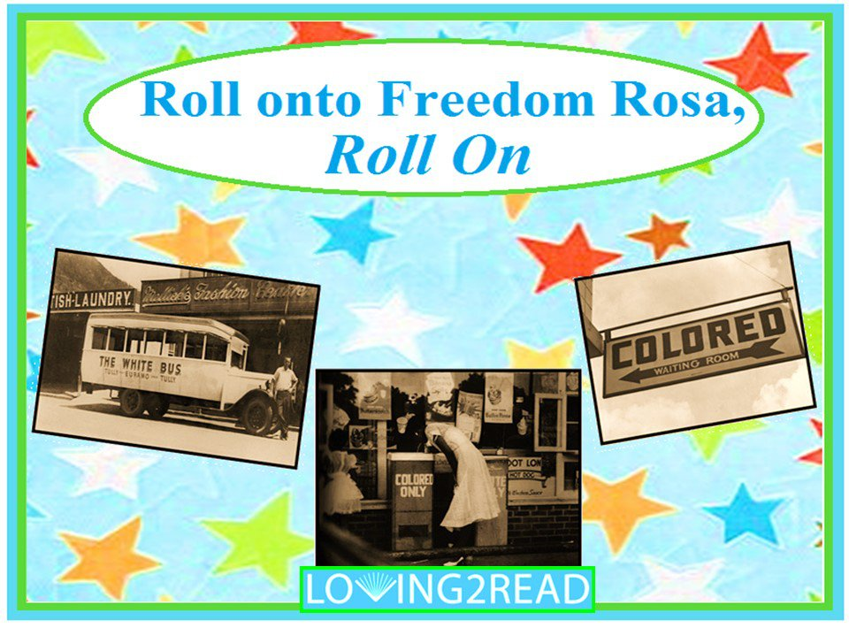 Roll on to Freedom Rosa, Roll On