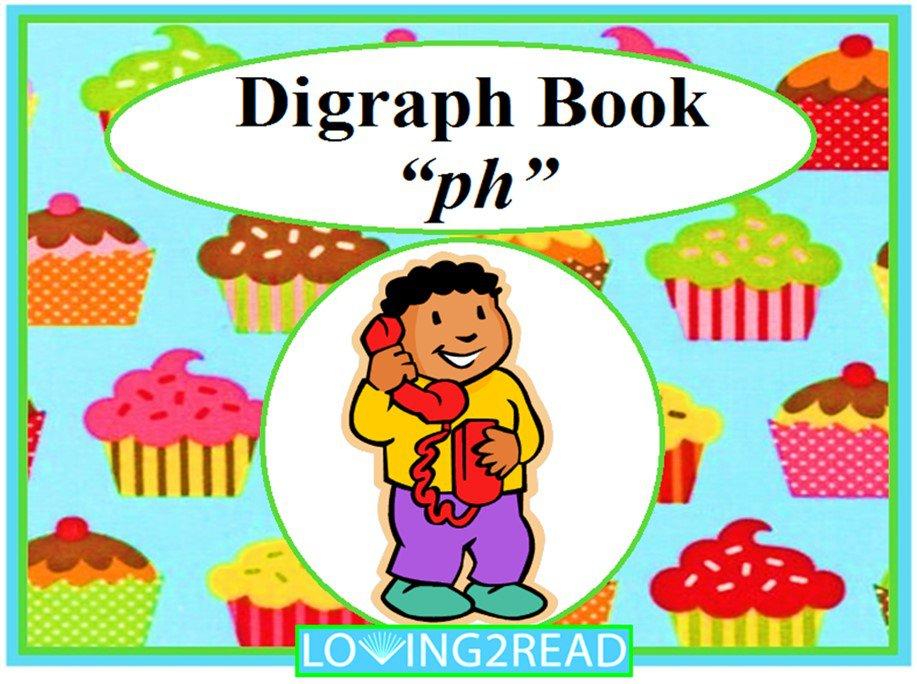 """Digraph Book """"ph"""""""