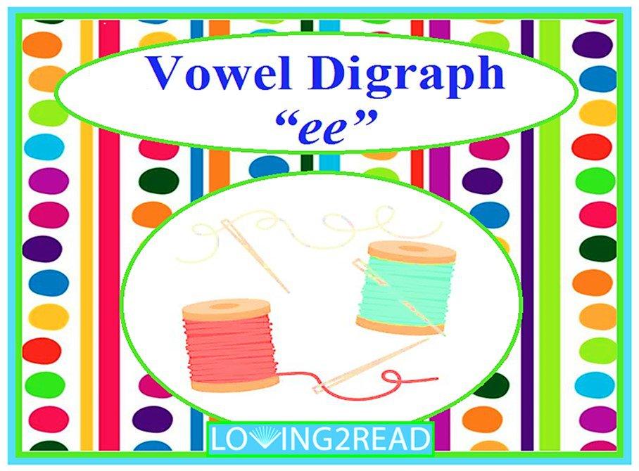 """Vowel Digraph """"ee"""""""