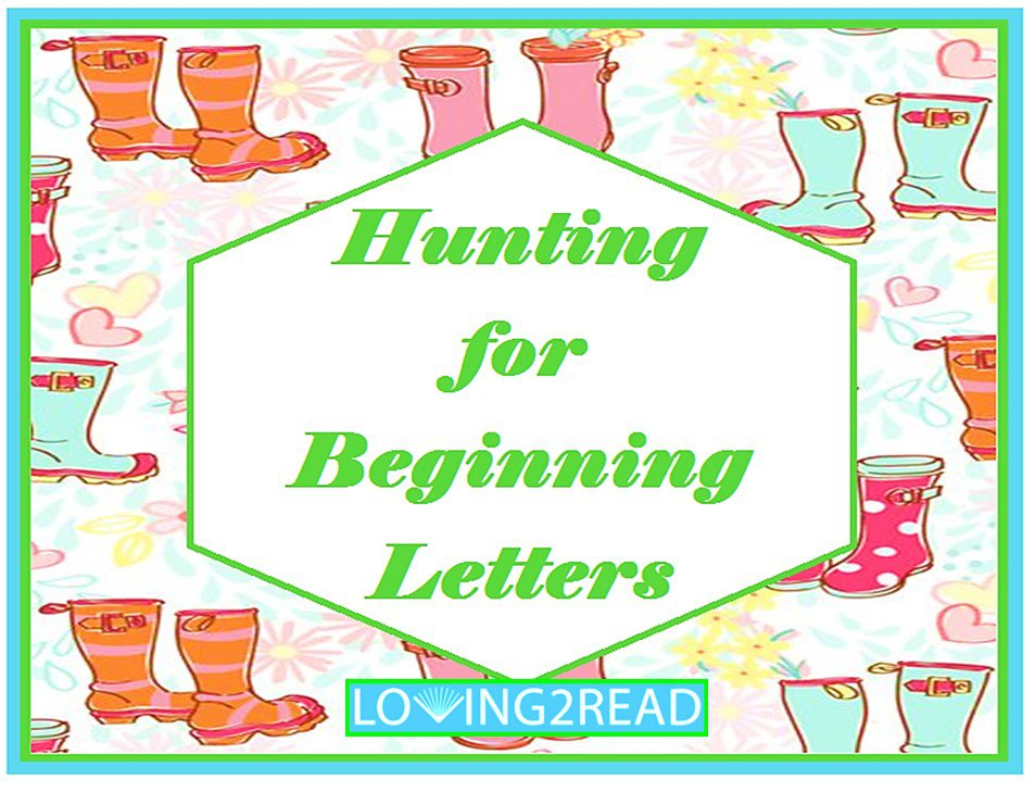 Hunting for Beginning Letters