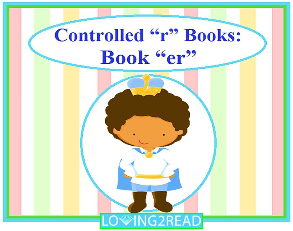"Controlled ""r"" Books: Book ""er"""