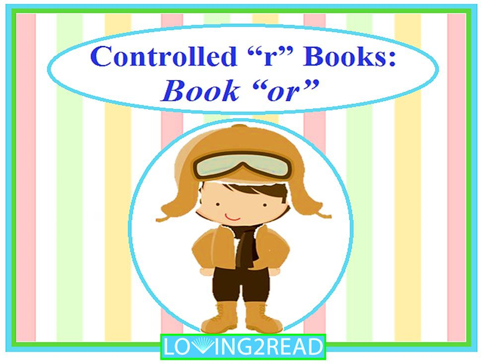 "Controlled ""r"" Books: Book ""or"""