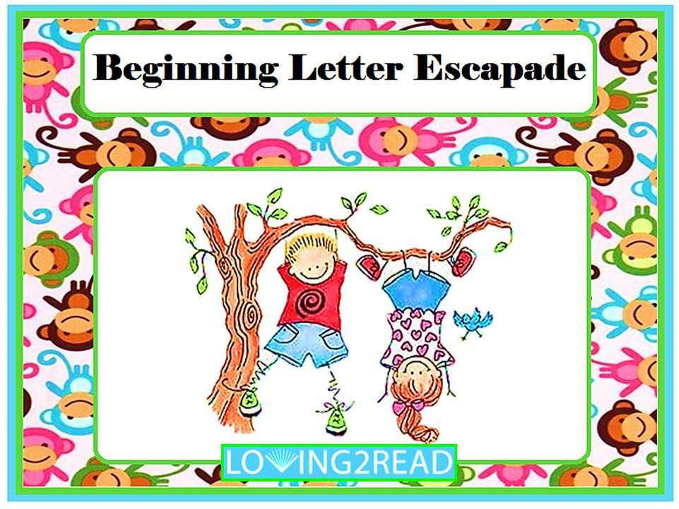 Beginning Letter Escapade