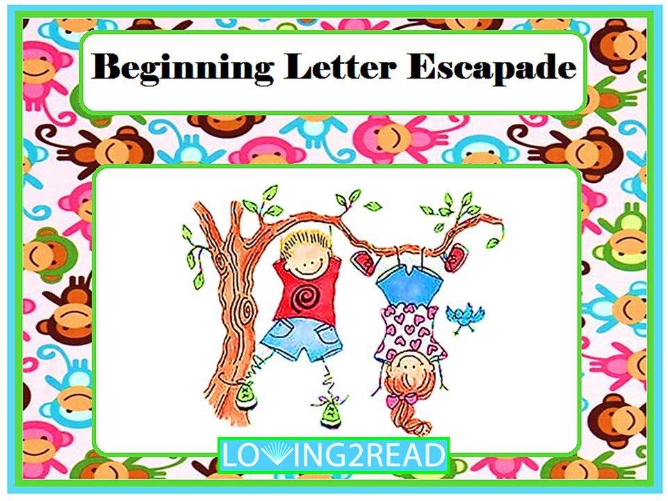 Beginning Letter Escapade