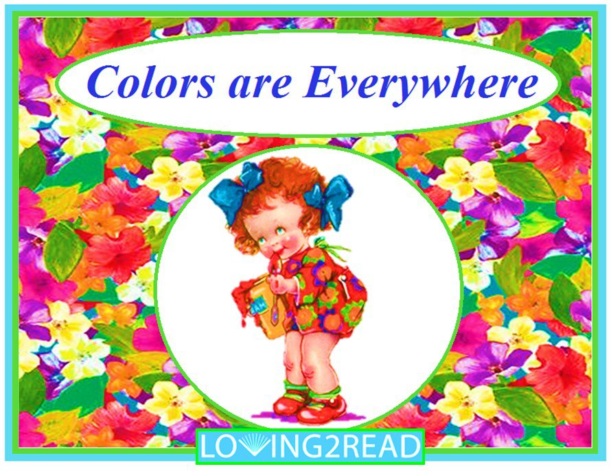 Colors are Everywhere