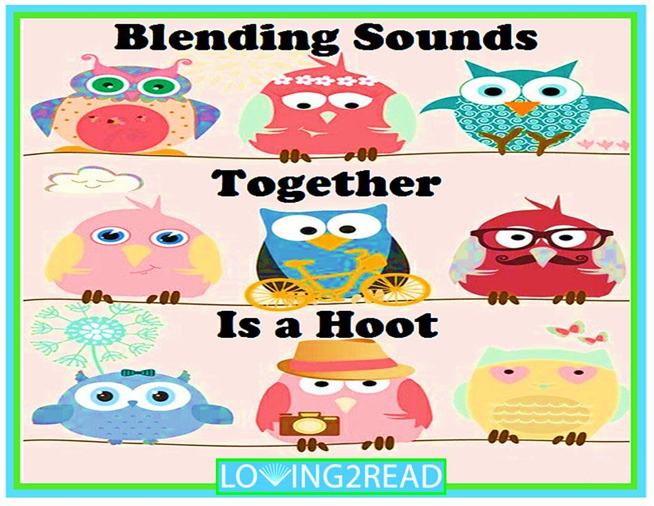 Blending Sounds Together is a Hoot