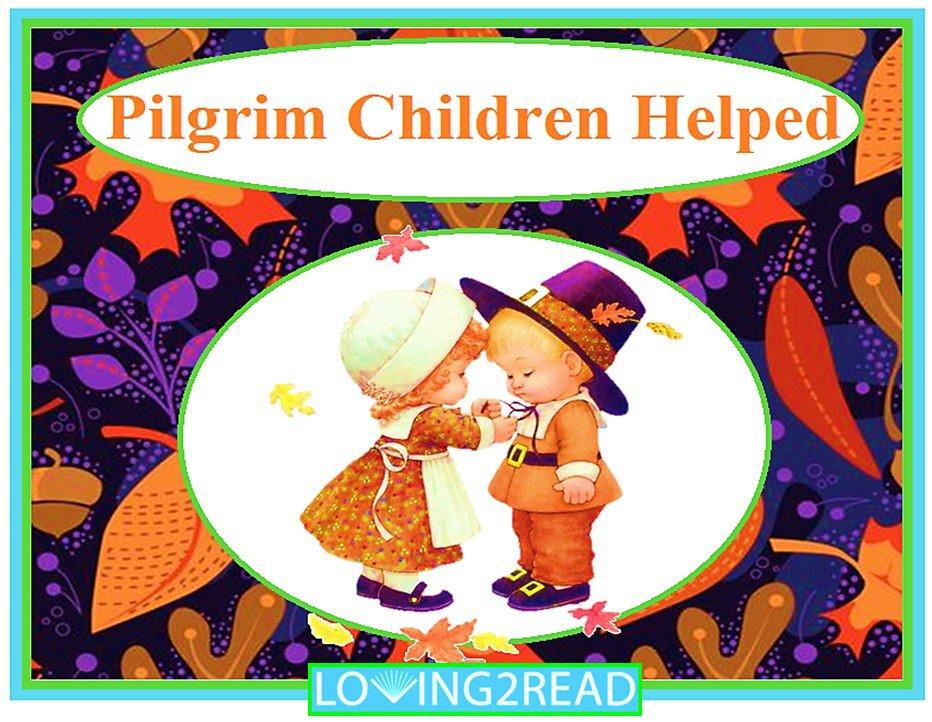 Pilgrims Children Helped