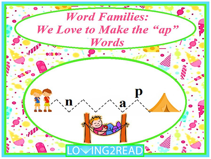 "Word Families: We Love to Make the ""ap"" Words"