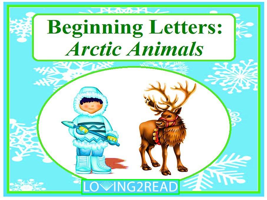 Beginning Letters: Arctic Animals
